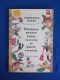 CONSTANTA BUZEA - CARTICICA PENTRU FETITE-VEVERITE , ILUSTRATII CLARETTE WACHTEL