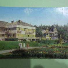 Borsec-Vedere din statiune- vedere circulata 1962