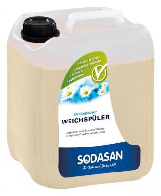 Sodasan Balsam ecologic pentru rufe cu aloe vera 5L foto