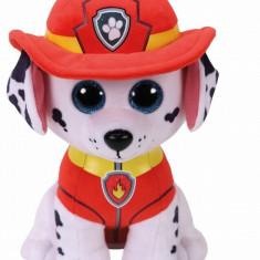Plus Ty Marshall Pompierul Patrulei Catelusilor 24 cm