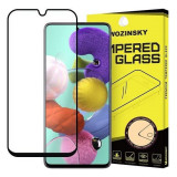 Folie Sticla Samsung Galaxy A51 Wozinsky 5D Full Glue Negru