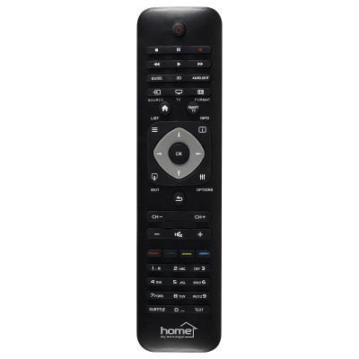 Telecomanda compatibila televizoare smart Philips, neagra, Home foto