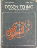 Desen tehnic Manual pentru licee -Husein Gheorghe, Tudose Mihail