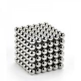 Cumpara ieftin Bile magnetice antistres Neocube, 216 piese, 5mm Argintiu