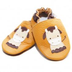 Pantofi cu talpa moale Liliputi Moo Boo