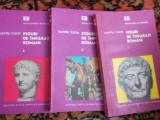 Figuri de imparati romani - D. Tudor - 3 vol.