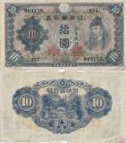 1944 , 10 yen ( P-51b ) - Japonia