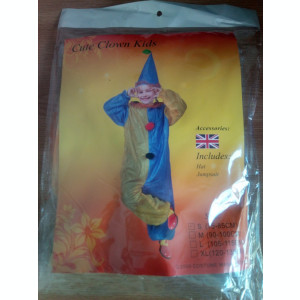 Costum Clovn 4-6 ani 9-12 ani