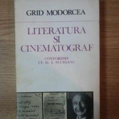 LITERATURA SI CINEMATOGRAF de GRID MODORCEA , 1986