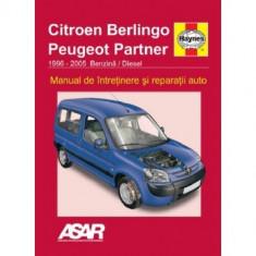 Manual Peugeot Partner / Citroen Berlingo ( 1996-2005 )