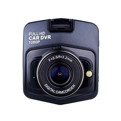 Camera auto DVR, full HD, 1080p, Negru foto