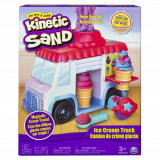 Set creativ Kinetic Sand - Masina de inghetata