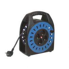 Derulator pe tambur cu 4 prize Schuko, Home HJR 3-20, lungime 20 m, 3 x 1 mm, IP 20 Mania Tools