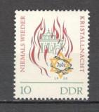 "D.D.R.1963 25 ani ""Noaptea de Cristal""  MD.189"