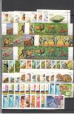 Guineea.Lot peste 140 buc. timbre stampilate serii si deparaiate  LL.29