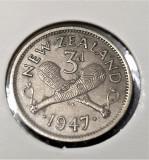 Noua Zeelanda 3 Pence 1947