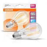 Bec Led Osram, E27, LED Retrofit CLASSIC A, 7.5W (75W) 220- 240V, lumina neutra (4000K), 1055 lumeni