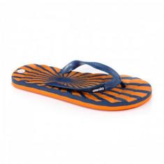 Papuci Javier blue de plaja