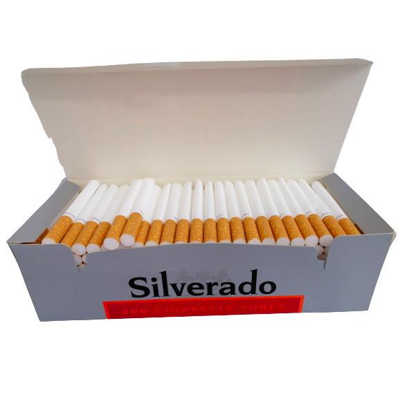 Tuburi Flitre Tigari, Silverado Red,Filtru Maro 200 buc
