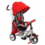 Tricicleta cu scaun reversibil Turbo Trike Red Baby Mix