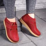 Pantofi Piele dama rosii Sipo-rl