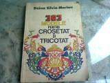 303 Modele pentru Crosetat si Tricotat , Doina Silvia Marian , 1984