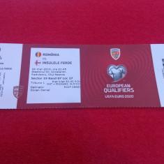 Bilet meci fotbal ROMANIA - INSULELE FEROE (26.03.2019)