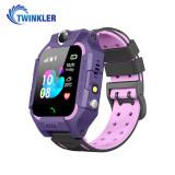 Cumpara ieftin Ceas Smartwatch Pentru Copii Twinkler TKY-GK01 cu Functie Telefon, Localizare GPS, Camera, Lanterna, Joc Matematic, Apel de monitorizare, Mov