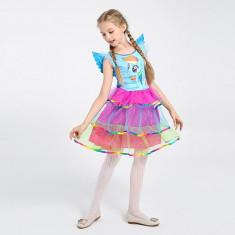 Costum copii Ponei Unicorn marime L 130 cm