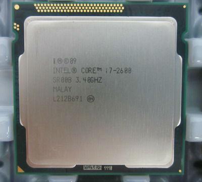 Procesor Intel Quad Core i7-2600 3.4GHz-3.8Ghz Sandy Bridge, socket 1155 foto