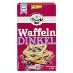 Mix pentru Vafe din Spelta Bio 200gr Bauck Hof Cod: 612742