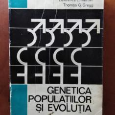 GENETICA POPULATIILOR ȘI EVOLUTIA