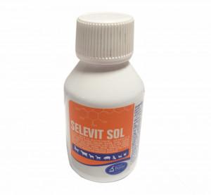 Solutie orala cu multivitamine pentru cabaline, ovine, bovine, caprine, caini, pisici, pasari, Selevit, Pasteur, 100ml