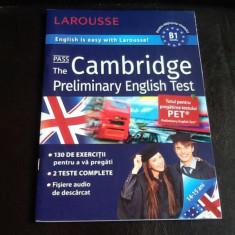 Pass the Cambridge Preliminary Enghlish test