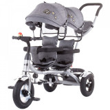 Cumpara ieftin Tricicleta gemeni Chipolino 2Play grey