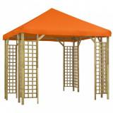 Pavilion, portocaliu, 3 x 3 m (310032+47710)