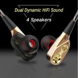 CASTI Dual-Dynamic Quad-core, Casti On Ear, Cu fir, Mufa 3,5mm