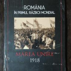 ROMANIA IN PRIMUL RAZBOI MONDIAL MAREA UNIRE 1918 - PETRE OTU