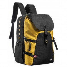 Rucsac ZIP..IT Metro Premium - galben cu negru