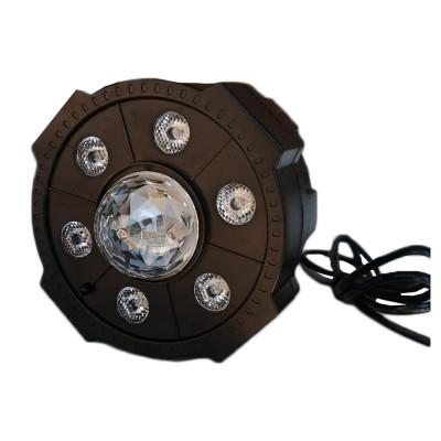 Proiector LED Par Light 4, 6 x LED, glob RGB, stick USB, telecomanda foto