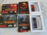 Vand jocuri SNES , super nintendo, colectie,box,cutie , mortal kombat 1  si 2