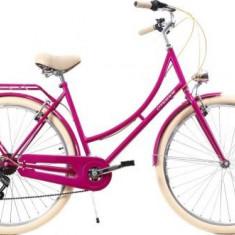 Bicicleta Dama DHS Citadinne 2834, Cadru 19.9inch (Roz)