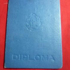 Diploma - Carnet  Absolvire  Facultatea de Istorie Universitatea CI Parhon 1956