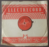 "Disc ebonita 10"" 1956 - Gianni Spinelli/Adrian Ionescu – Per Che/Cubatiera"