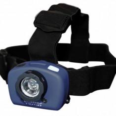 Lanterna frontala LED cu senzor