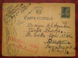 1942-C.P. circ. -CENZURAT HUSI 2