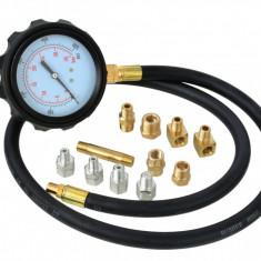 Tester măsurare presiune ulei, 0-35 BAR, 12 piese + Servietă Transport