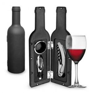 Sticla cu trei accesorii