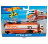 Set camion si masina sport, Hot Wheels Speedway Hauler