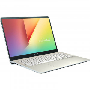 Laptop Asus VivoBook S530UF-BQ116 15.6 inch FHD Intel Core i5-8250U 8GB DDR4 256GB SSD nVidia GeForce MX130 2GB Endless OS Icicle Gold